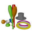 some colorful toy or color vector image vector image