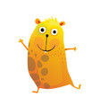 cavy hamster or guinea pig cartoon vector image vector image