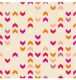 Chevron tile colorful decoration background vector image vector image
