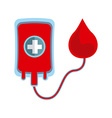 donate blood design vector image vector image