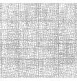Microchip Line art Gray lines on the white vector image vector image