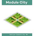 natural ecological landscape vector image vector image