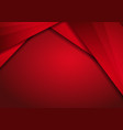 red modern technology design background with dots vector image vector image