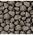 Rock Stone Seamless Pattern vector image