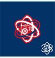 stem logo design vector image vector image