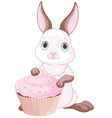 Sweet bunny vector image vector image