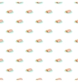 Turkish delight pattern cartoon style vector image vector image