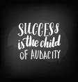 chalkboard blackboard lettering success