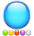 circle graphics circles buttons badges with blank vector image vector image