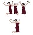 Joy of Jumping vector image vector image
