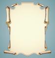 Parchment background vector image