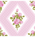 seamless walpaper with pink roses