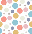 simple pattern with circles vector image