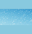 white dots christmas background subtle flying sno vector image vector image