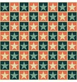 Retro pattern with stars vector image