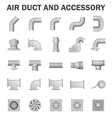 Aair duct vector image vector image