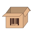 box carton free delivery isolated vector image
