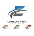faster logo template icon design vector image vector image