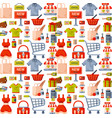 online store shop website clothes and goods vector image