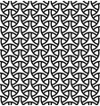 seamless pattern in black geometric linesfor vector image vector image