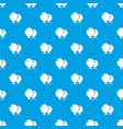 wedding ballons pattern seamless blue vector image vector image