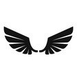 wings angel icon simple style