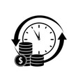 credit money icons vector image