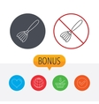 Brush icon Paintbrush tool sign vector image vector image