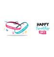 friendship day friends forever bracelet web banner vector image vector image