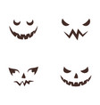 happy halloween icon vector image vector image