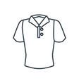 man polo shirt vector image