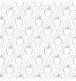 pepper pattern with dots on white background vector image vector image