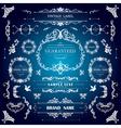 set vintage decorations elementsflourishes vector image vector image