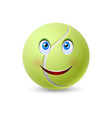 Ball for tennis vector image