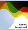 abstract background with multicolor transparent vector image vector image