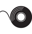 adhesive tape roll glyph icon