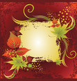 autumn leafs vector image vector image