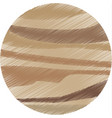 drawing venus planet solar system galaxy vector image vector image