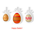 egg gift2 vector image vector image