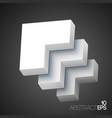 web geometric business concept vector image
