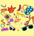 Womans accessory vector image vector image