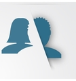 Abstact people template Family icon vector image vector image