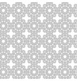 arabesque star seamless pattern vector image