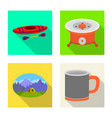 design cookout and wildlife symbol vector image