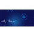 Greeting card for Christmas vector image vector image
