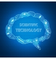 scientific background vector image