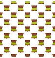 suitcase money pattern seamless vector image vector image