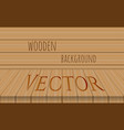 wood perspective table top on oak vector image vector image