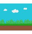 271016 0038 pixel background vector image vector image