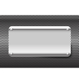 Chrome black and grey background texture 002 vector image vector image